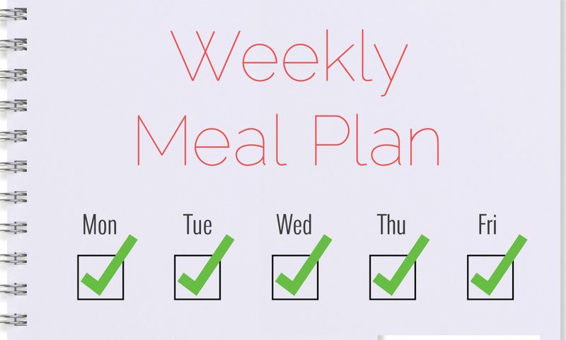 stick to your meal plan everyday